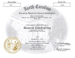 GCCertificate