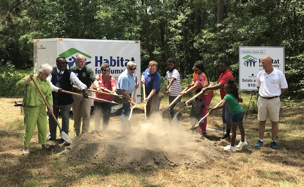 Ground Breaking in Harnett County