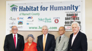 Habitat for Humanity Harnett County Celebrates 25 Years.