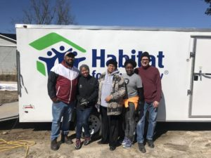 Friends Volunteering to Help - Habitat for Humanity Harnett County